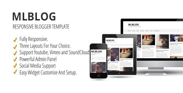 Download MLBLOG - Responsive Blogger Template Youtube Blogger Templates