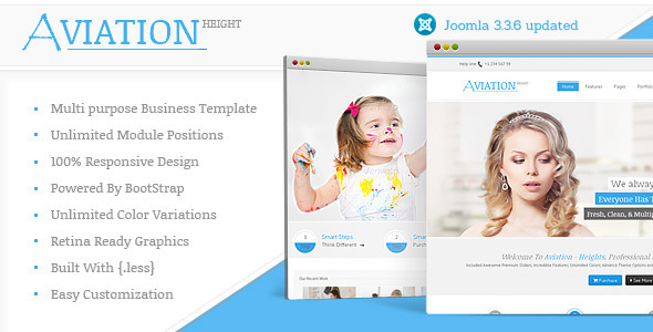 Download Aviation - Responsive Multi-Purpose Joomla Theme Hospital Joomla Templates