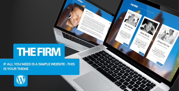 Download The Firm - Simple Company WordPress Theme Company WordPress Themes