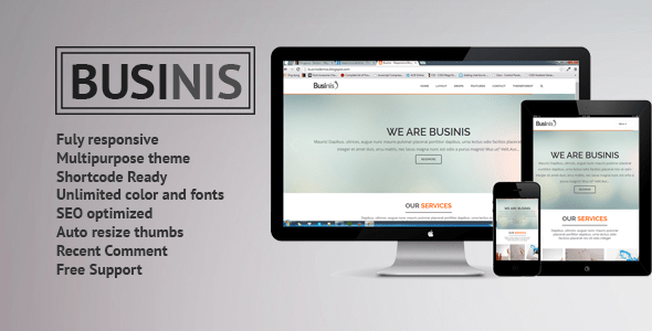 Download Businis - Responsive Blogger Templates Responsive Blogger Templates