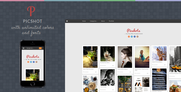 Download PicShots - Responsive Blogger Template Responsive Blogger Templates