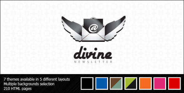 Download Divine Newsletter - Email Templates Brown Html Templates