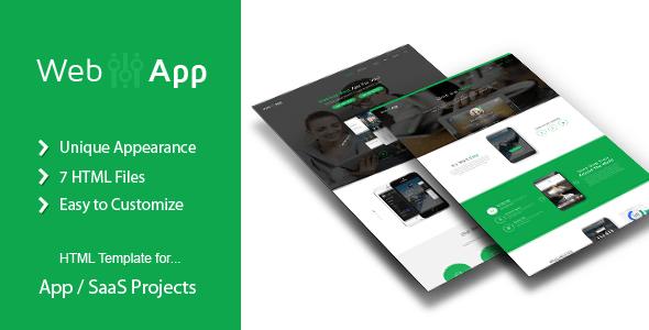 Download WebApp - App Saas Html Template Cute Html Templates