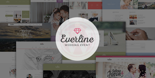 Download Everline - Wedding Events HTML Template Wedding Html Templates