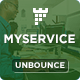 Download MYSERVICE - SaaS Product Unbounce Landing Page Template from ThemeForest