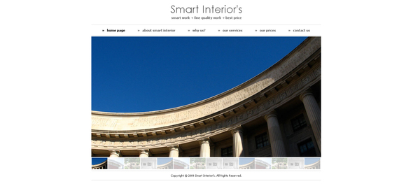 Download Smart Interiors Elegant Blogger Templates