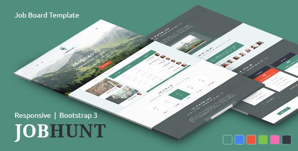 Download JobHunt - Elegant Job Board HTML Template Elegant Html Templates