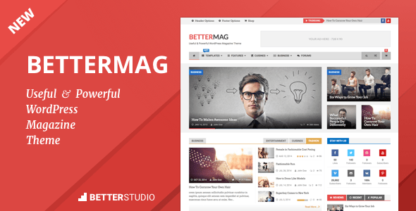 Download BetterMag - Magazine, Blog and Newspaper WordPress Theme Newspaper WordPress Themes