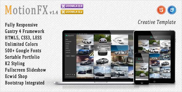 Download MotionFX - Responsive Joomla Template Responsive Joomla Templates