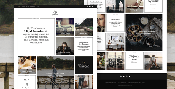 Download Yonkers – Responsive Retina-Ready HTML5 Portfolio Black Joomla Templates