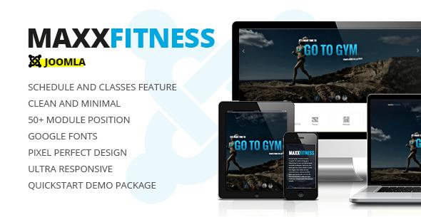 Download Maxx Fitness Responsive Joomla Template Responsive Joomla Templates
