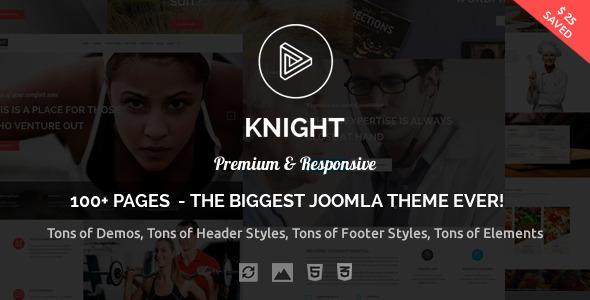 Download Knight - Responsive Multi-Purpose Joomla Theme Hospital Joomla Templates