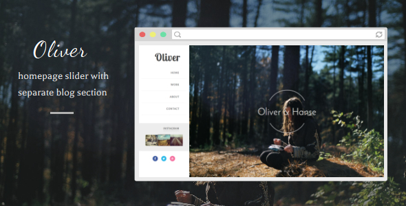 Download Oliver - Responsive Blogger Template Responsive Blogger Templates