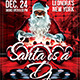 Download Santa is a DJ Flyer Template from GraphicRiver