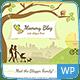 Download Mommy Blog WordPress from ThemeForest