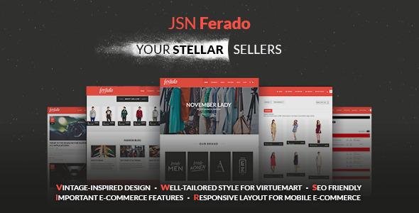 Download JSN Ferado - Stellar Joomla! e-Commerce Templates Vintage Joomla Templates