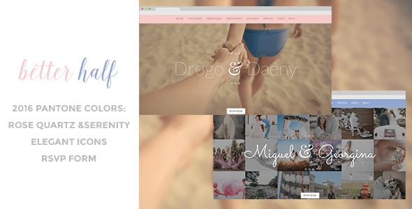 Download Better Half - Responsive Wedding HTML Template Wedding Html Templates