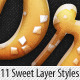 Download Delicious Sweet Cake Layer Styles from GraphicRiver