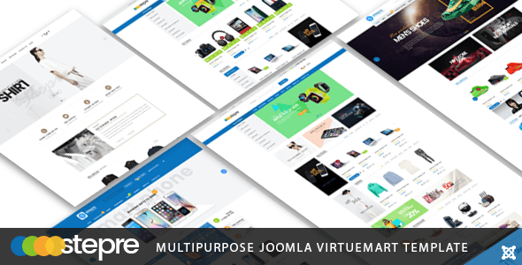 Download Vina Stepre - Multipurpose Joomla Virtuemart Template Modern Joomla Templates