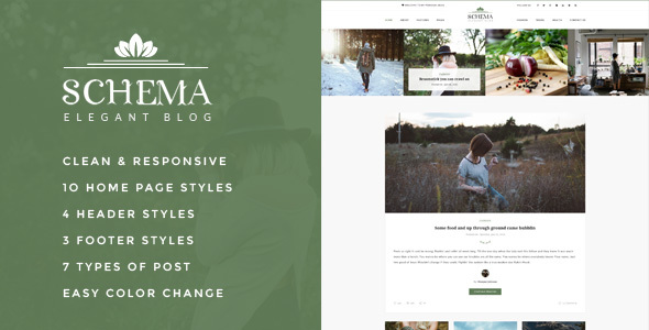 Download Schema Elegant HTML Blog Template Music Blogger Templates
