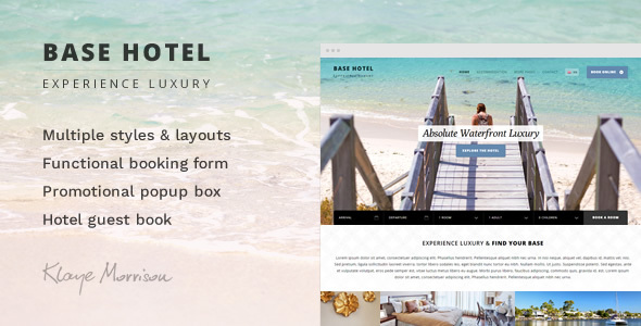 Download Base Hotel - HTML Template Hotel Html Templates