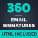 Download 360 Professional E-Signature Templates from GraphicRiver
