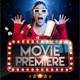 Download Movie Premiere & Movie Star Flyer from GraphicRiver