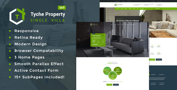 Download Tyche Properties- Single Property Real Estate WordPress Theme Property WordPress Themes