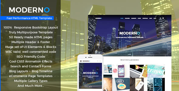 Download Moderno - Multipurpose Fast Performance HTML Template Fast Html Templates