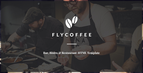 Download FlyCoffee - Bar and Restaurant HTML Template Restaurant Html Templates