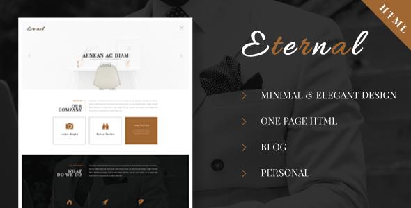 Download Eternal - Personal Elegant HTML Blog Template Elegant Html Templates