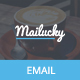 Download Mailucky, Modern Email Template + Builder Access from ThemeForest