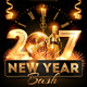 Download New Year Bash Flyer Template from GraphicRiver