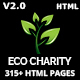 Download ecoCharity - Nonprofit Environment HTML5 Template from ThemeForest