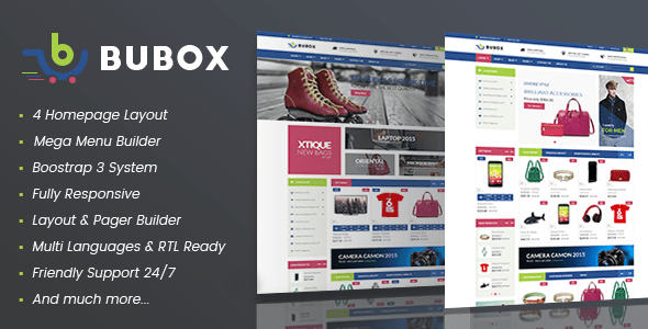 Download Vina Bubox - VirtueMart Joomla Template for Online Stores Store Joomla Templates