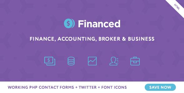 Download Financed - Finance Company HTML Template Company Html Templates