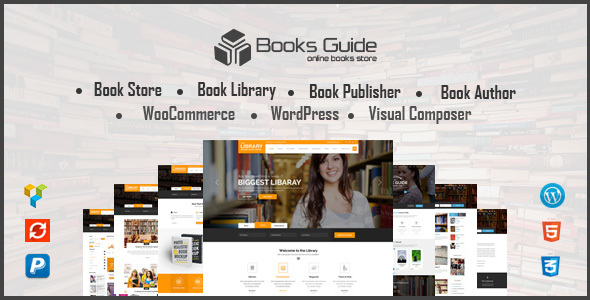Download Book Store WordPress Theme - Book Store WP Store WordPress Themes