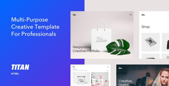 Download Titan - Creative HTML5 Template Architecture Blogger Templates