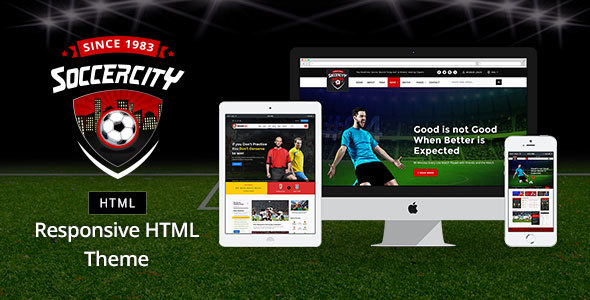 Download Soccer Sports - Soccer & Sports HTML Template Amp Html Templates