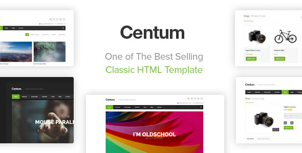 Download Centum - Responsive HTML Template Responsive Html Templates