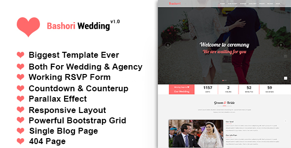 Download Bashori - Wedding HTML Template Wedding Html Templates
