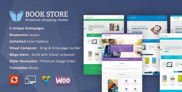 Download Book Store WordPress WooCommerce Theme Store WordPress Themes