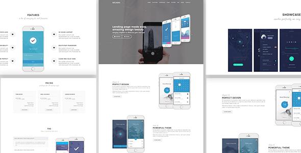Download Decades - App Showcase & App Store WordPress Theme Store WordPress Themes