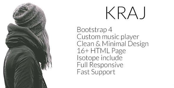 Download Kraj – Music Band HTML Template Band Html Templates