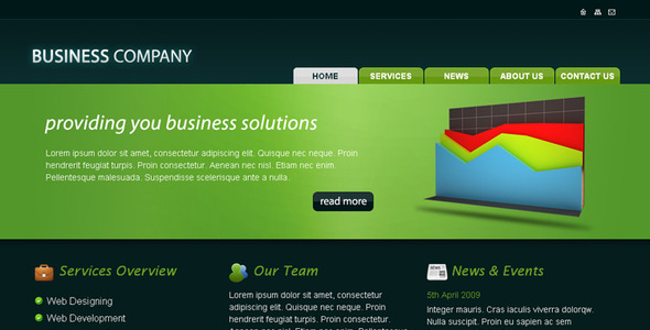 Download Business Company HTML Template Company Html Templates