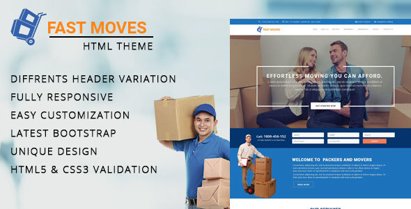 Download Mover - Company HTML Template Company Html Templates