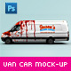 Download Van & Delivery Cars Branding Mockup from GraphicRiver