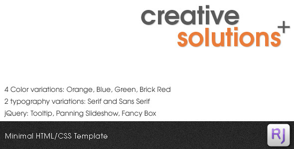 Download Creative Solutions HTML/CSS Template Blue Html Templates