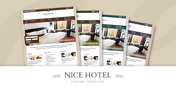 Download Nice Hotel - HTML Template Hotel Html Templates