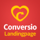Download Conversio - Responsive Social & Dating Landingpage from ThemeForest